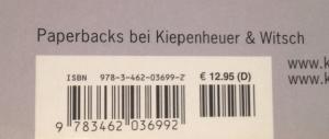 ISBN Nummer Beispiel