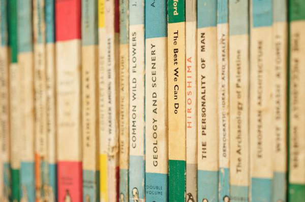 Bücherregal mit Bestsellern